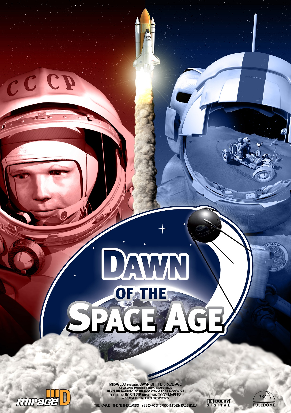 Dawn of the Space Age Poster